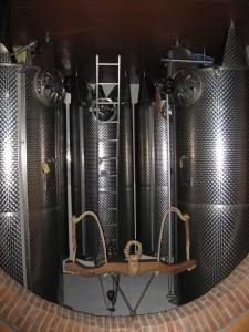 Lagertanks für das Olivenöl