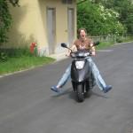 mein neuer Roller Yamaha Vity